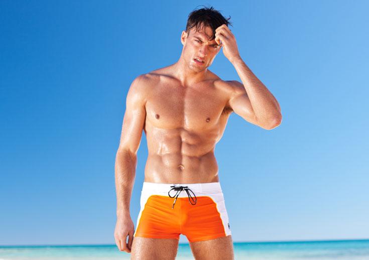 בגדי הים של Aussiebum בבוטיק Orlando Any-Wear. ''אנשים היו מזועזעים מהנועזות של המוצר'' (צילום: ORLANDO ANY-WEAR)