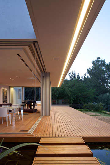 בית בעמוקה, בתכנונו של ארנון ניר (צילום: עמית גרון)