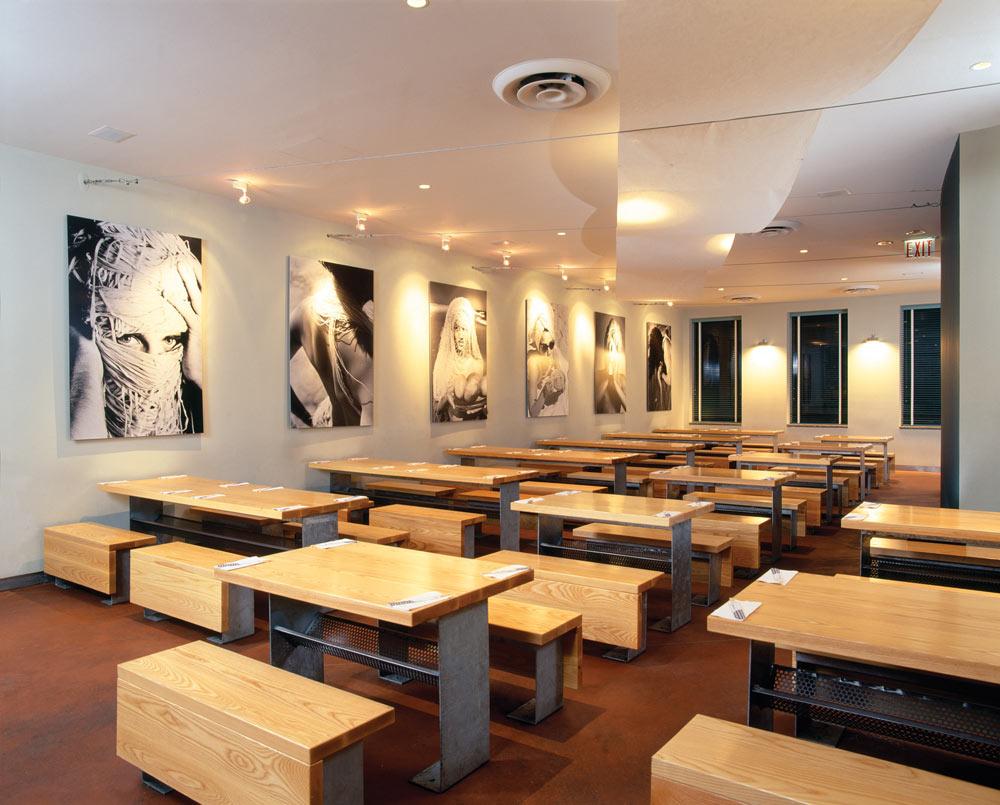 הפרויקט הראשון של ''סטודיו גאיה'' לפני 12 שנים - מסעדת ''ריפבליק'' בניו יורק (צילום: באדיבות אילן ויסברוד)
