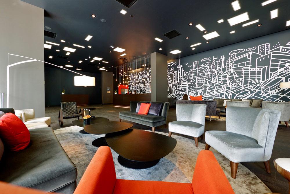 מלון תומפסון בטורונטו, קנדה. ויסברוד יעצב לרשת תומפסון את המלון הראשון שלה בישראל, שייבנה ביפו ויכלול 80 חדרים (צילום: איתי סיקולסקי)