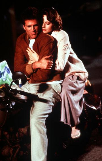 רוסליני עם טד דנסון, 1988 (צילום: gettyimages)