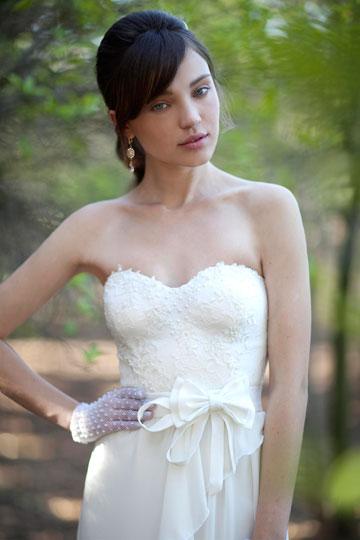 אלון ליבנה. שמלות כלה בסגנון קלאסי ורומנטי (צילום: דודי חסון)