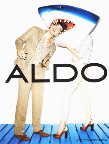 שון אופריי בקמפיין של אלדו