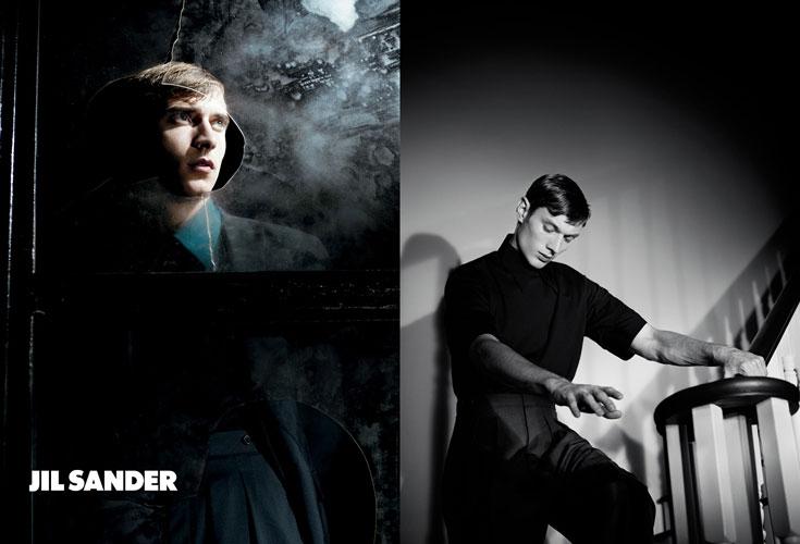 קלמנט שברנאו בקמפיין אביב-קיץ 2012 של ז'יל סנדר. נחכה לחברת האופנה הישראלית שתהיה ראויה לו