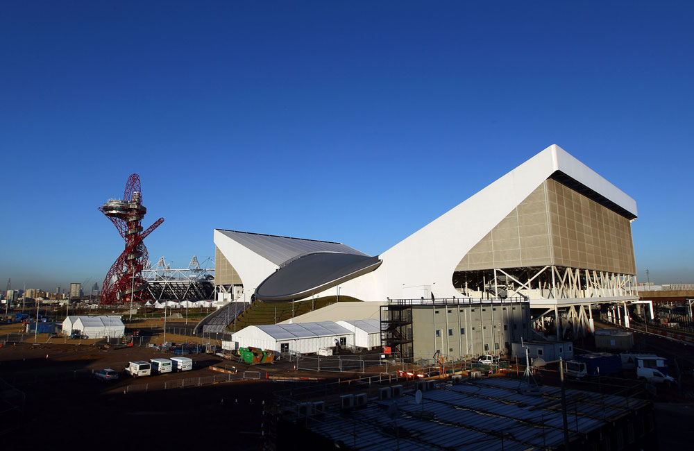 ואי אפשר בלי פרויקט שאוהבים לשנוא: מגדל התצפית ArcelorMittal Orbit, שאמור להיות השריד המונומנטלי של האולימפיאדה (צילום: gettyimages)