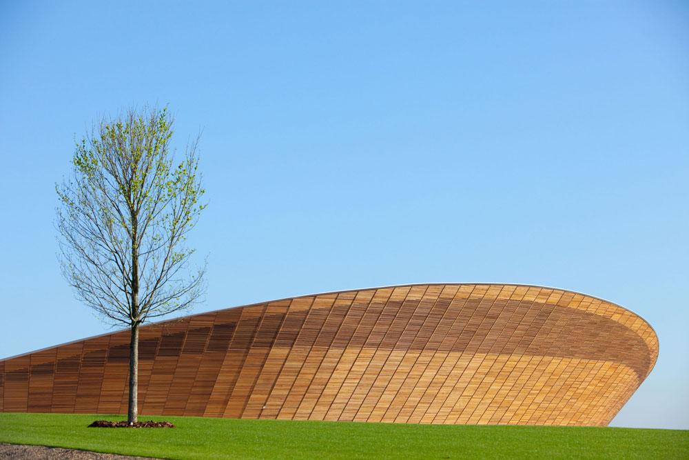 הוולדרום - אולם תחרויות האופניים באולימפיאדת לונדון 2012, אחד המבנים היפים שנבנו בפארק האולימפי, והבר קיימא מכולם (צילום: Anthony Charlton, London 2012)