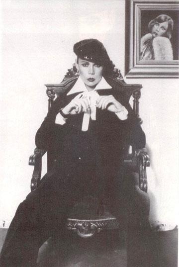 דנסקי בצילום אופנה משנות ה-80. ''היינו מושלמות, יופי מולד'' (צילום: סמי בן גד)