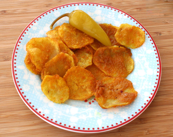 תפוחי אדמה מטוגנים (צילום: אסנת לסטר)
