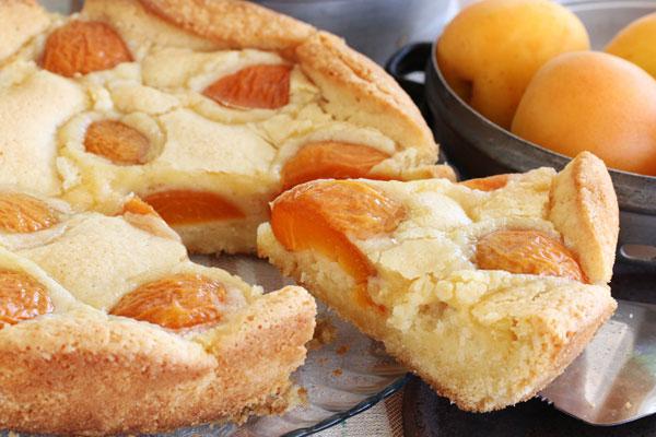 עוגת משמשים (צילום: אסנת לסטר)