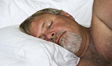 """""""השינה הטובה של כל אחד מאיתנו היא פיצוי טוב מספיק. כשאנחנו רוצים את היחד שלנו, אשתי באה למיטה שלי או שאני הולך אליה"""" (צילום: shutterstock)"""