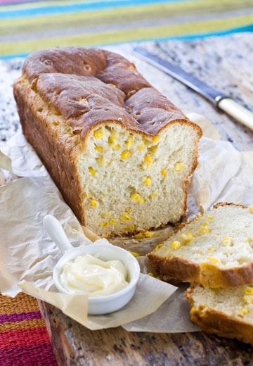 לחם קוטג' ותירס  (צילום: איתיאל ציון)