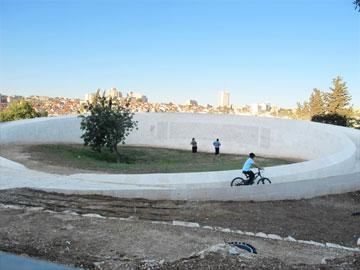 מסלול אופניים חדש לילדים (צילום: מיכאל יעקובסון)