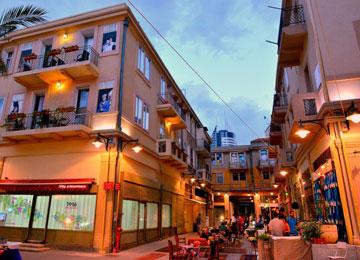 מתחם 21 בעיר התחתית בחיפה (צילום: צבי רוגר )