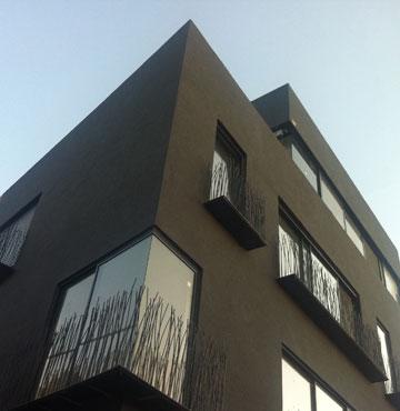 בניין בכרם התימנים (באדיבות פריצקי ליאני אדריכלים)