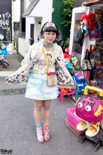 תצוגות אופנה בהשראת רובע הרג'וקו (באדיבות tokyofashion.com)