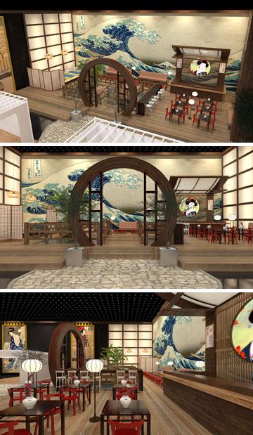 ביתן 1 יהפוך למשך 4 ימים לבירה היפנית המלהיבה