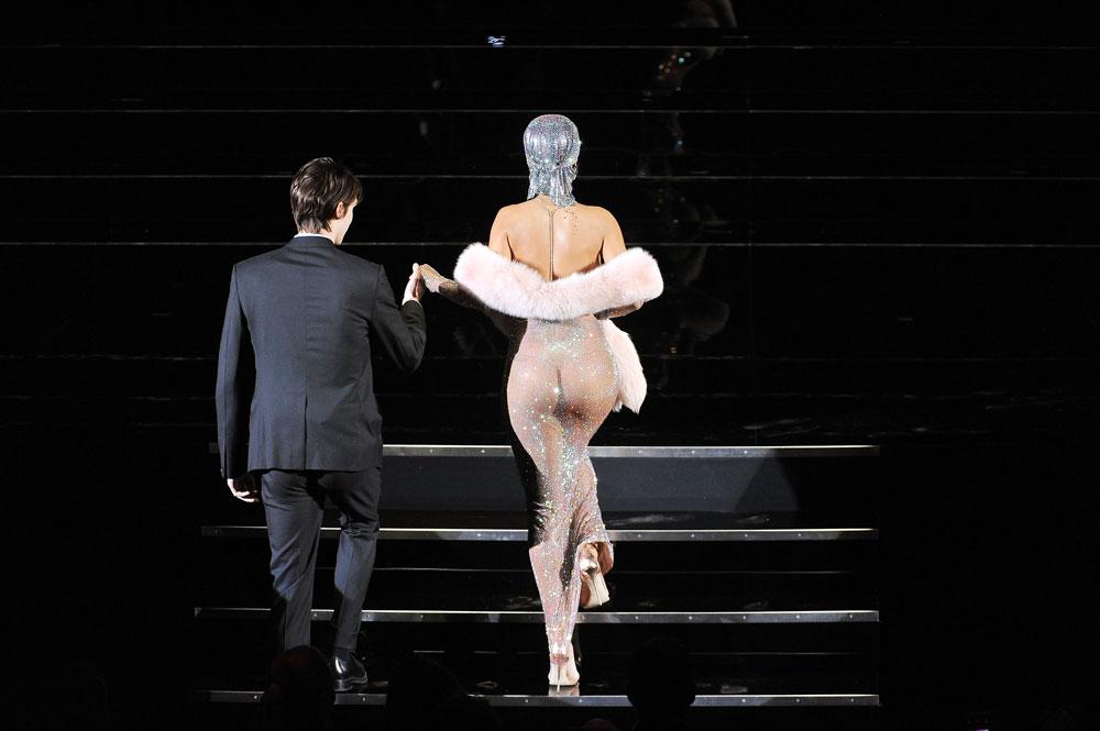 ריהאנה. לא השאירה שום מקום לדמיון (צילום: gettyimages)