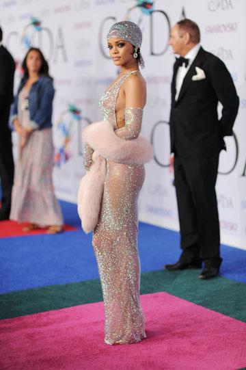 חשבון האינסטגרם נמחק. ריהאנה בטקס פרסי ה-CFDA (צילום: gettyimages)