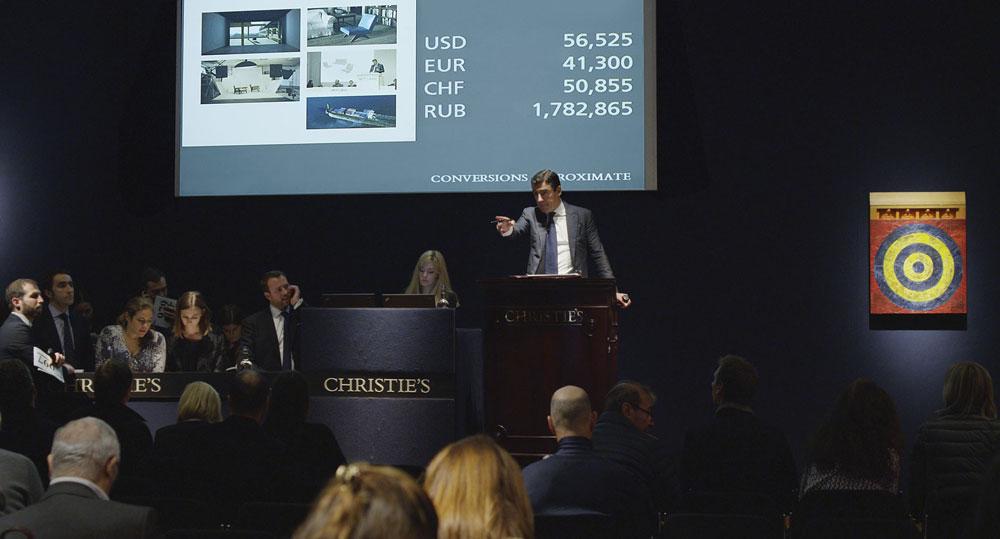 הם נמכרו במחירי שיא של עשרות ומאות אלפי דולרים לפריט. אפילו סרטה של איימי סיגל, שמתאר את מסעם, נמכר במכירה פומבית ב''כריסטי'ס''  ב-42 אלף לירות שטרלינג (בתמונה) (צילום: Amie Siegel)