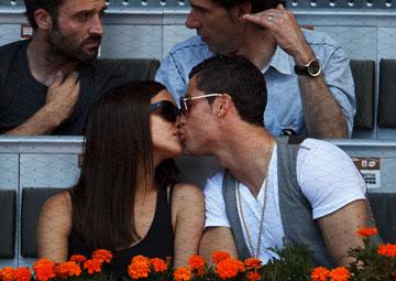 הצעת הנישואין בדרך? כריסטיאנו רונאלדו ואירינה שייק (צילום: gettyimages)