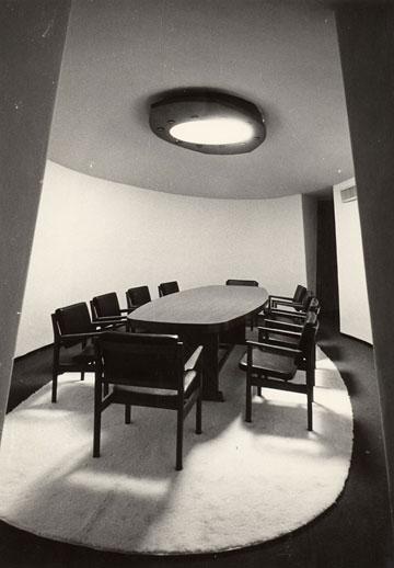הבניין הוותיק של המכון, בתכנון רזניק ופובזנר (צילום: דוד רובינגר)
