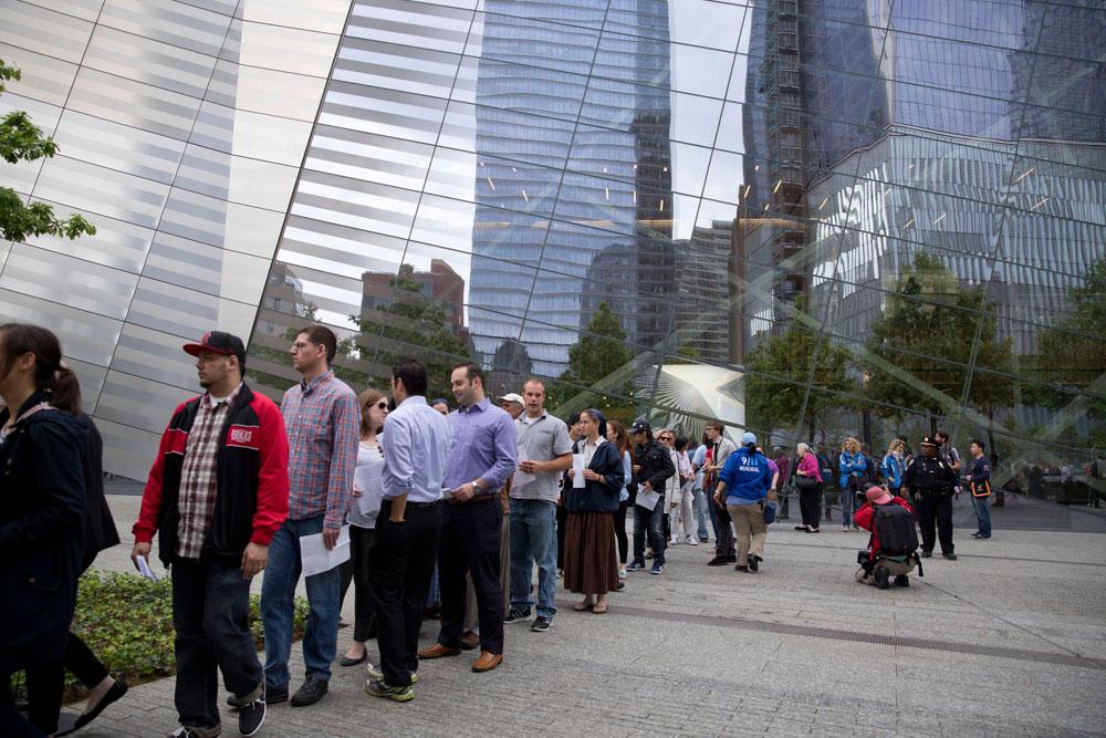 מדי יום יכול האתר לאכלס כ-5,000 מבקרים, והכניסה עולה 24 דולר, בהזמנה מראש (צילום: Jin Lee)