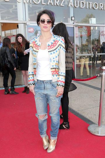 """""""אני עדיין מתלבשת כרגיל ועוד לא שיניתי דבר במלתחה שלי"""" (צילום: ענת מוסברג)"""