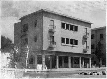 בית פייגין בחיפה, מעבודותיו של משה חת. טעמו והקפדתו על פרטים יצרו מבנים נאים ואלגנטיים (צילום: גדעון סלע)