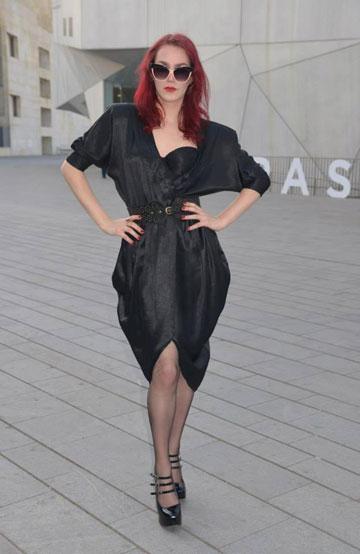 """ניר לוי. """"בישראל יש סטיגמה על טרנסקסואליות, ותעשיית האופנה בישראל היא חלק בלתי נפרד ממה שקורה כאן"""" (צילום: לורי גריף )"""
