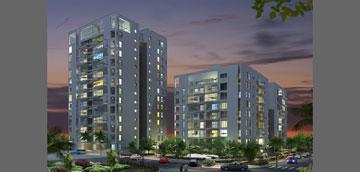 הפרויקט בכפר סבא. יחסים מוגזמים בין דירה ישנה לחדשה (תכנון: א.מזור-א.פירשט - אדריכלים ומתכנני ערים)