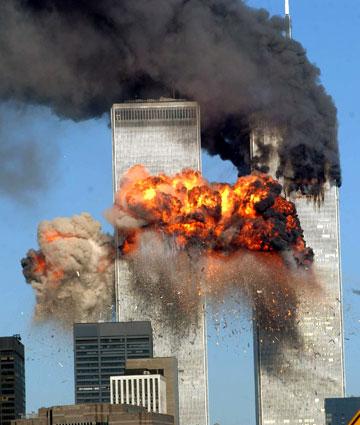 אסון התאומים, 11.9.2001 (צילום: gettyimages)