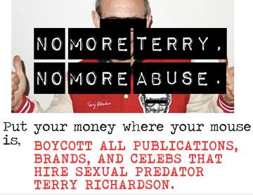 טאמבלר הקורא לחרם נגד טרי ריצ'רדסון