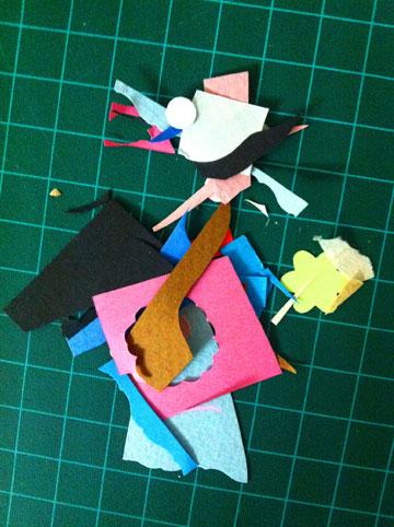 ליצור אישיות מלאה מגזרי נייר בלבד (צילום: אפרת חסון דה בוטון )