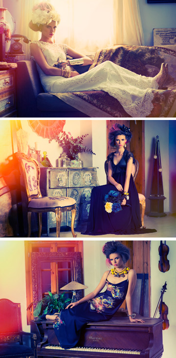 שו שיין. שלושה קווים של שמלות קוקטייל, שמלות ערב ושמלות כלה (צילום: אלה מנור)