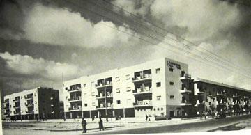 מעונות עובדים ח', מבט מרחוב בן יהודה