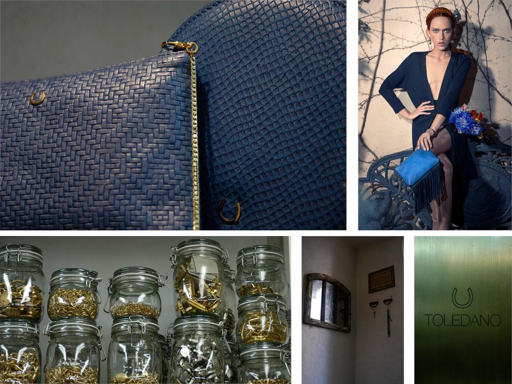 """בית המלאכה והקולקציה של הילה טולדנו בכיכובה של יאנה גור. """"גם אם תהיה לי חנות, אני רוצה שיהיה בה קיר שקוף שאפשר יהיה לראות את בית המלאכה והייצור מאחוריו"""" (צילום קולקציה: דביר כחלון )"""