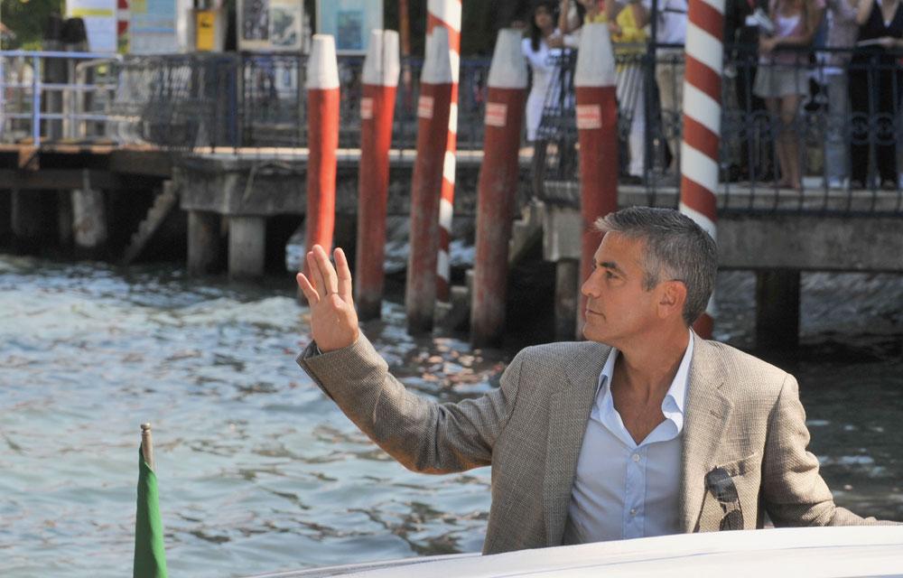 חוקקו חוקים מיוחדים עבורו. ג'ורג' קלוני באיטליה (צילום: gettyimages)