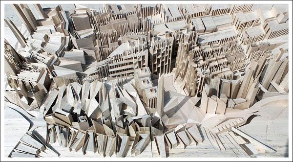 הפרויקט של שוקרון: 3,000 יחידות דיור בבאר-שבע (באדיבות בית הספר לארכיטקטורה באוניברסיטת אריאל )