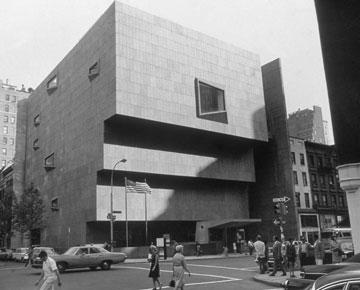 וויטני הקודם, בתכנונו של מרסל ברויאר. געגועים לאדריכלות אחרת (צילום: gettyimages)