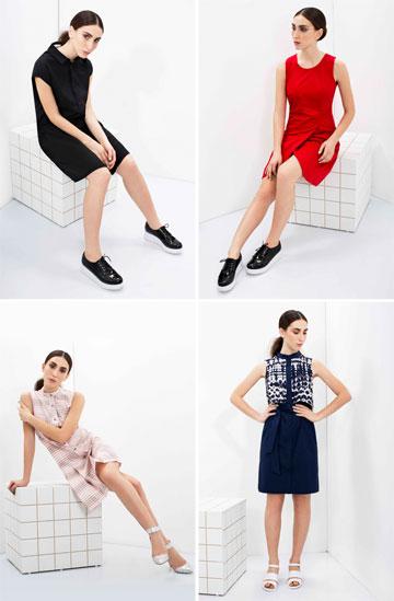 LIAH. שמלות מוצלחות בבדים ובהדפסים שונים (צילום: מיכאל טופיול)