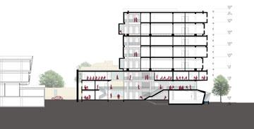 שלב ג' (שרטוט: יובל כנעני אדריכלים )