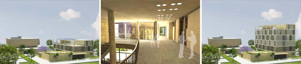 הגיעה לגמר: ההצעה של פרייס-פילצר-יעבץ לבניין הצומח (הדמיה: פרייס פילצר יעבץ אדריכלים)