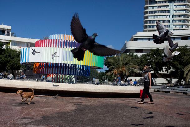 מזרקה מפורסמת אחת בכיכר (צילום: gettyimages)