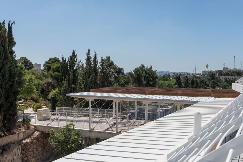 האם הבניין יעביר את מרכז הכובד של הקמפוס לצד המזרחי, הפחות ידוע שלו, ויביא עוד מבקרים לגן הבוטני הסמוך? (צילום: אלי סינגלובסקי )