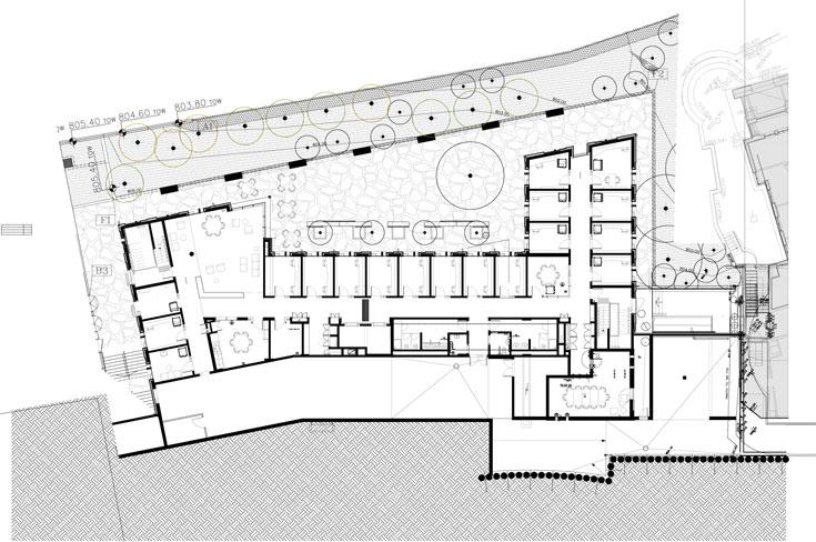 תוכנית בניין מנדל, קמפוס הר הצופים באוניברסיטה העברית
