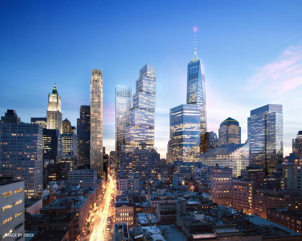 עם גובה של 408 מטרים, אמור המגדל להיות השלישי בגובהו בניו יורק, אחרי ''מגדל החירות'' ופארק אבניו 432 שנבנה בימים אלה (ויהיה מגדל המגורים הגבוה בחצי הכדור המערבי)