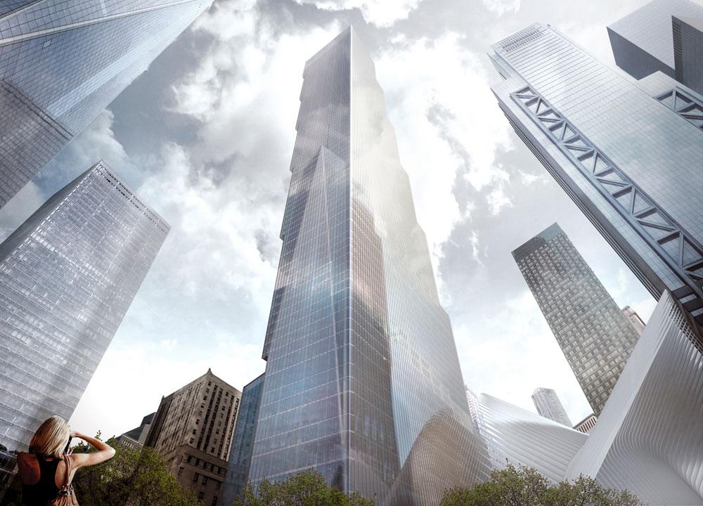 כך אמור להיראות בניין WTC 2, האחרון שייבנה במרכז הסחר העולמי במנהטן, שמשלים את שיקומו אחרי אסון התאומים