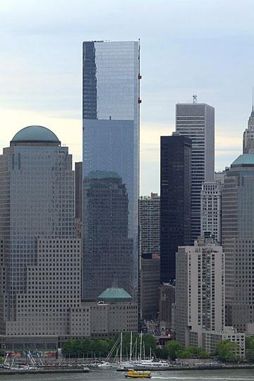 WTC 4. חבר נוסף במתחם (צילום: Deepen03, cc)