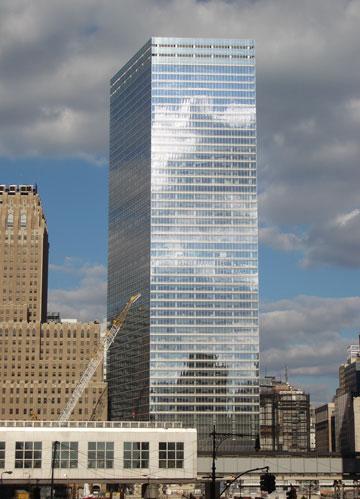 WTC 7. הראשון שהוקם (צילום: Sweeneyr, cc)