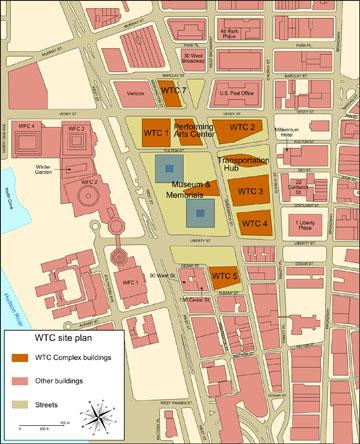 מפת המתחם (מתוך wikipedia.org)